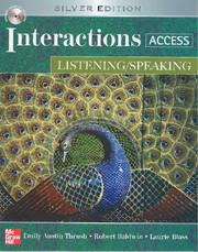 Listening/Speaking Student Book