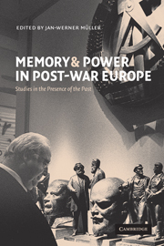 Memory and Power in Post-War Europe