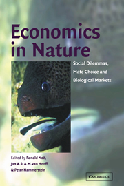 Economics in Nature