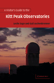 A Visitor's Guide to the Kitt Peak Observatories