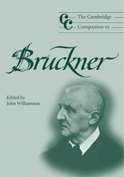 The Cambridge Companion to Bruckner