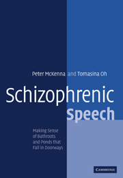 Schizophrenic Speech