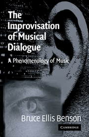 The Improvisation of Musical Dialogue