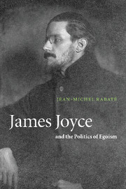 James Joyce and the Politics of Egoism