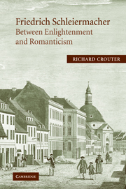 Friedrich Schleiermacher: Between Enlightenment and Romanticism