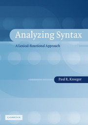 Analyzing Syntax