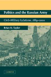 Politics and the Russian Army