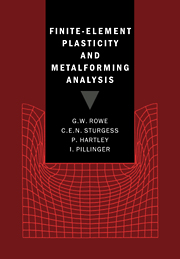 Finite-Element Plasticity and Metalforming Analysis