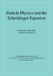 Particle Physics and the Schrödinger Equation