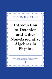 Introduction to Octonion and Other Non-Associative Algebras in Physics