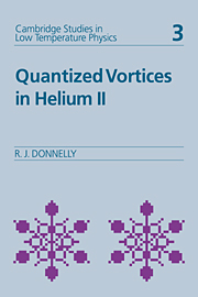 Quantized Vortices in Helium II