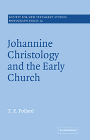 Johannine Christology and the Early Church