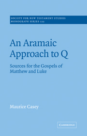 An Aramaic Approach to Q