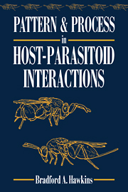 Pattern and Process in Host-Parasitoid Interactions