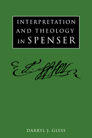 Interpretation and Theology in Spenser