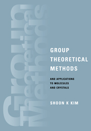 Group Theoretical Methods and Applications to Molecules and Crystals
