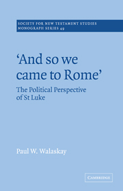 'And so we Came to Rome '