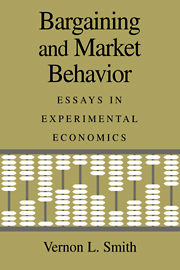 Bargaining and Market Behavior