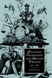 Religion, Toleration, and British Writing, 1790–1830