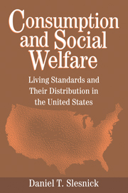 Consumption and Social Welfare