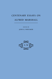 Centenary Essays on Alfred Marshall