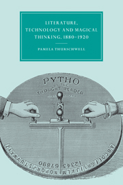 Literature, Technology and Magical Thinking, 1880–1920