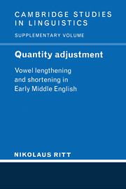 Quantity Adjustment