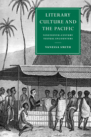 Literary Culture and the Pacific