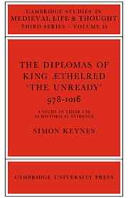 The Diplomas of King Aethlred 'the Unready' 978–1016