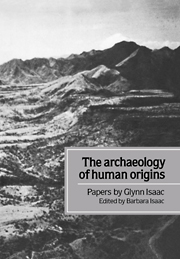 The Archaeology of Human Origins