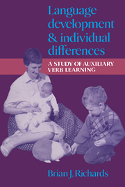 Language Development and Individual Differences