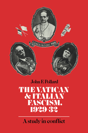 The Vatican and Italian Fascism, 1929–32