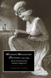 Reading Daughters' Fictions 1709–1834
