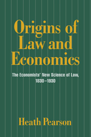 Origins of Law and Economics