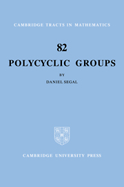 Polycyclic Groups