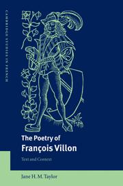 The Poetry of François Villon