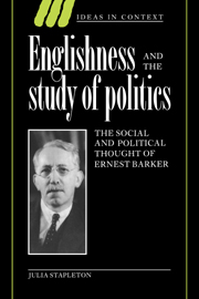Englishness and the Study of Politics
