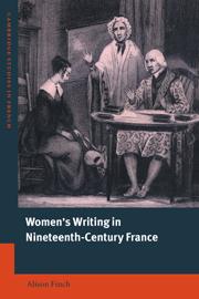 Women's Writing in Nineteenth-Century France