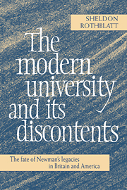 The Modern University and its Discontents