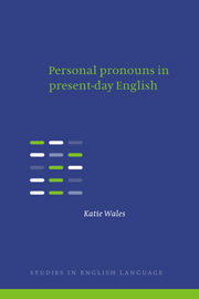 Personal Pronouns in Present-Day English