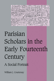 Parisian Scholars in the Early Fourteenth Century