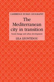 The Mediterranean City in Transition