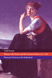 Women, the Novel, and the German Nation 1771–1871