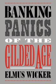 Banking panics gilded age economic history cambridge university look inside banking panics of the gilded age fandeluxe Image collections