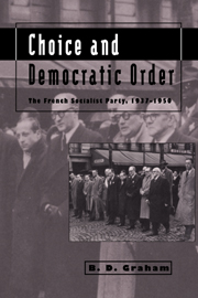 Choice and Democratic Order