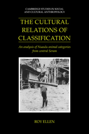 The Cultural Relations of Classification