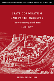 State Corporatism and Proto-Industry