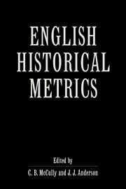 English Historical Metrics