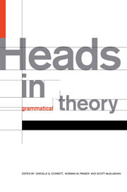 Heads in Grammatical Theory