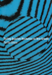 Testing Quantum Mechanics on New Ground
